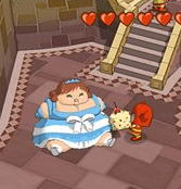 Capture d'écran du jeu Fat Princess