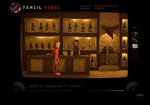 Le barman de Pencil Rebel