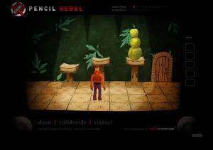La première pièce du jeu Pencil Rebel