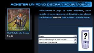 Fond d'écran pour mobile World of Warcraft