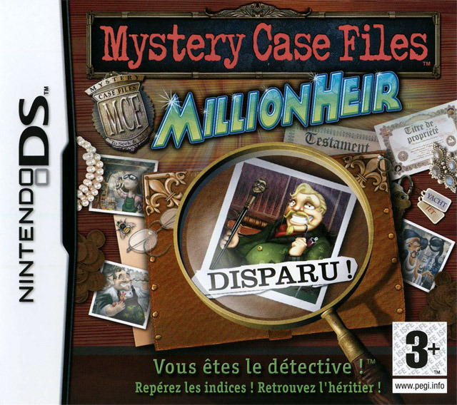 Mystery Case Files : MillionHeir DS