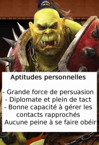 Orc et manager