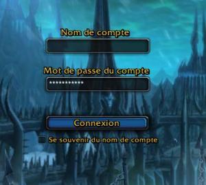 Des comptes World of Warcraft sont fréquemment volés à cause de mots de passe peu sûrs